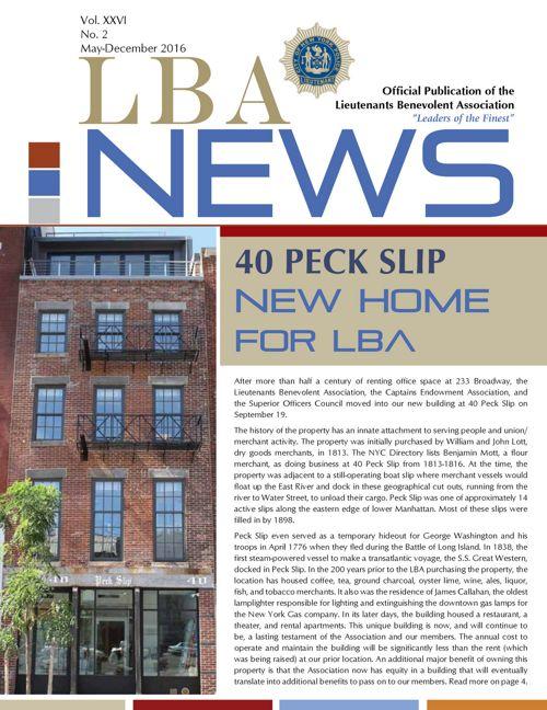 LBA News | May-December 2016