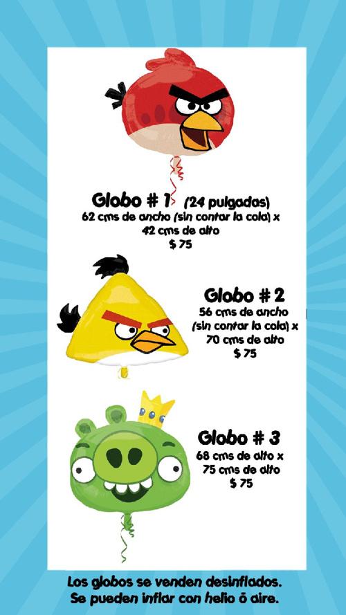 Catálogo Angry Birds