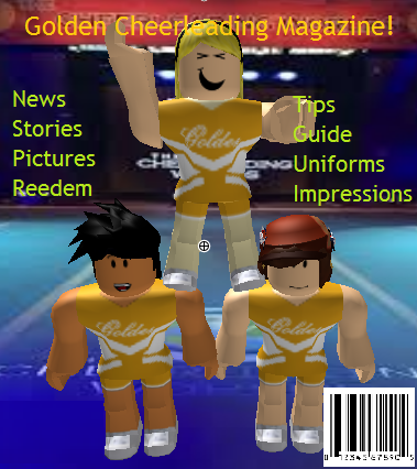 ROBLOX Golden Cheer-leading Squad's Magazine