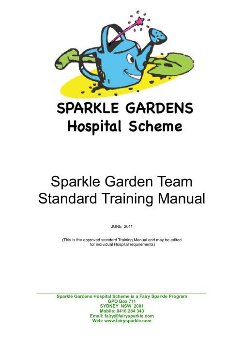 Sparkle Gardens Hospital Scheme