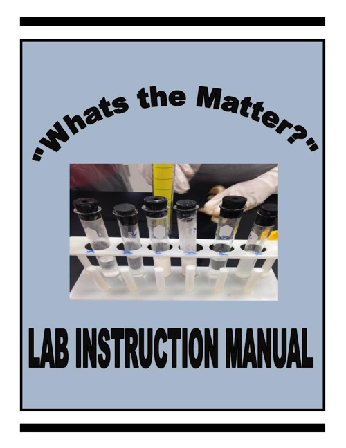 """What's the Matter?"" Instruction Manual"