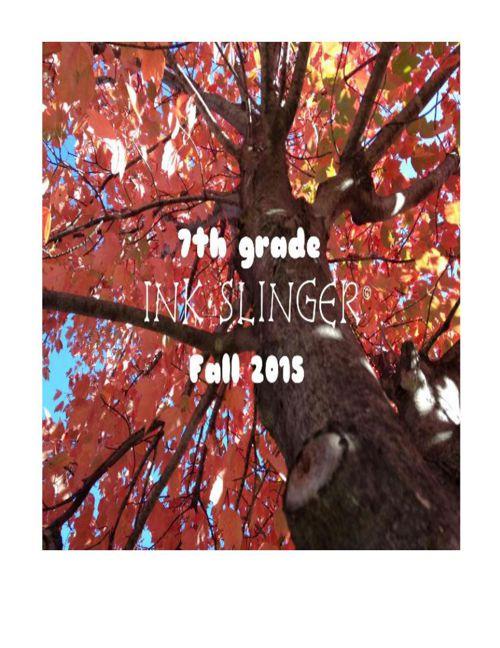 The Ink Slinger Volume 1, Issue 3