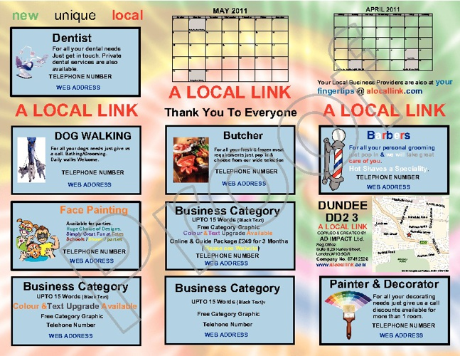 A LOCAL LINK BUSINESS DIRECTORY/GUIDE