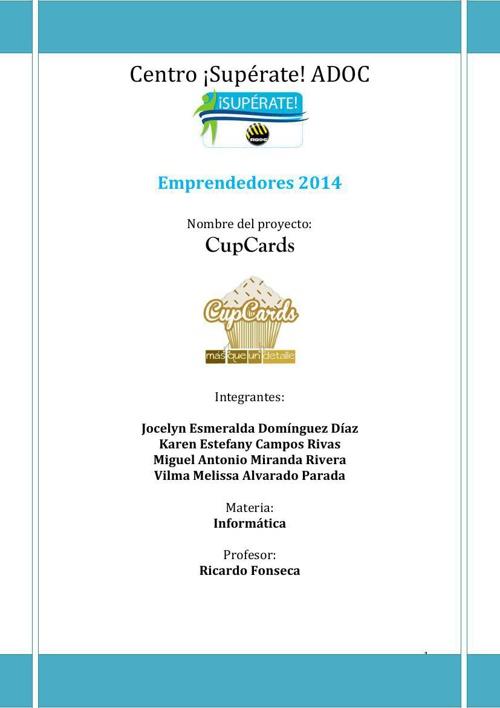 Emprendedores-2014:CupCards