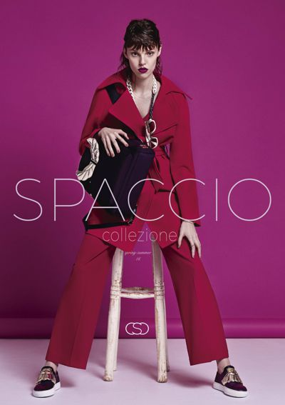 LOOKBOOK SPACCIO SPRING-SUMMER 16