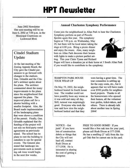 HPT Newsletter June 2002