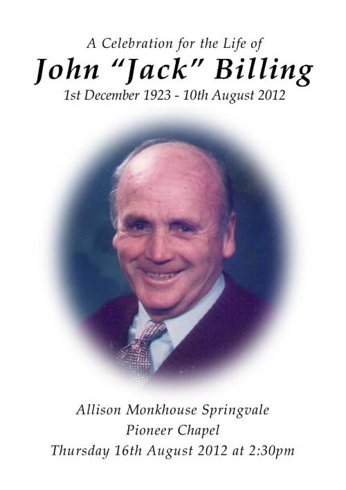 John Billing