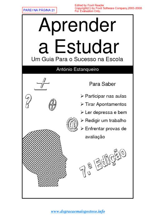 Como Aprender a Estudar