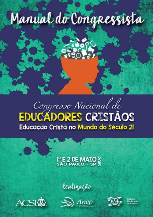 Manual do Congressista - Congresso Nacional de Educadores Cristã