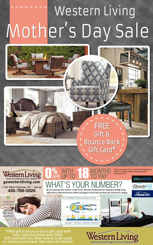 Mother's Day Sale at Western Living