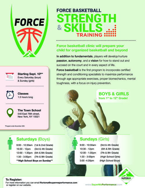 Force Basketball flyer 3.1