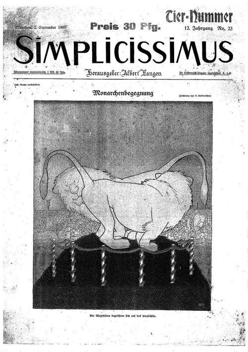 Simplicissimus setembre 1907