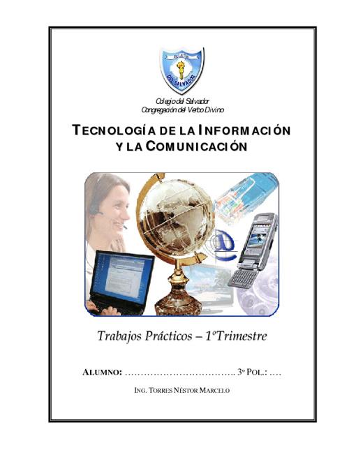 Guia de Practicos Tics 2012 - Colegio Del Salvador
