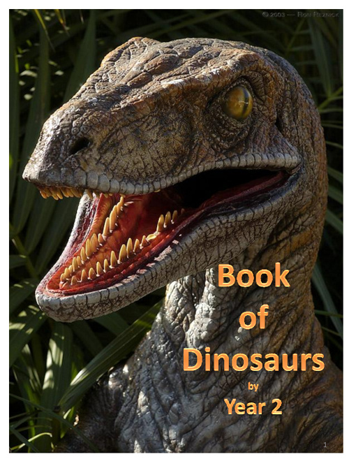 Year 2 Dinosaur Book