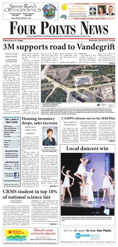 Four Points News July 24 2013 Issue