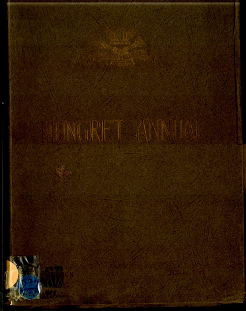 1929 Mungret College Annual