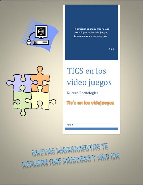 "Revista Tics Julián Hidalgo Dz 4""E"" #13"