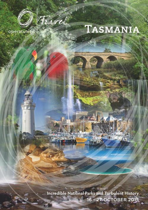 2015 Tasmania Itinerary