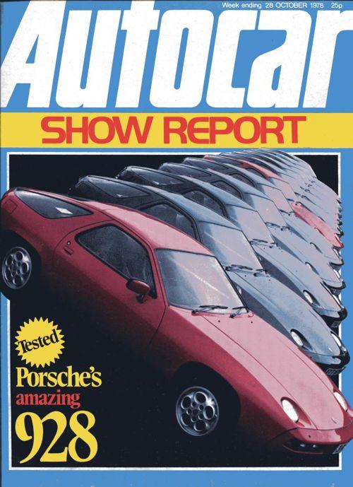 Porsche 928 Autocar 1978