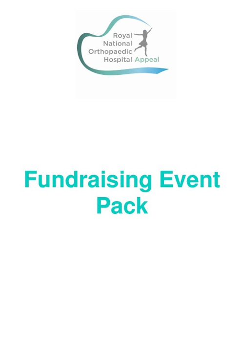 Fundraising Event Pack