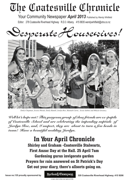Coatesville Chronicle April 2013