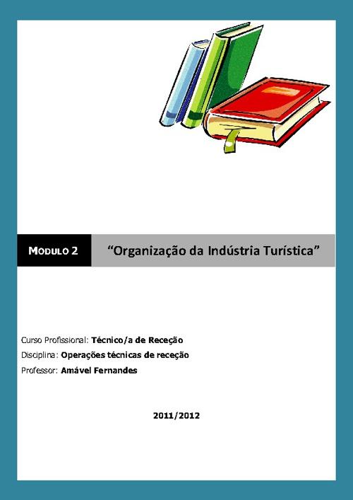 Manual - Organização da Indústria Turística