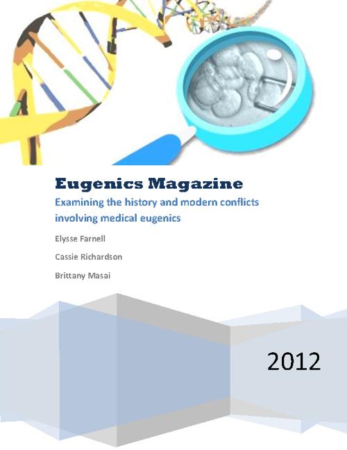 Eugenics Magazine