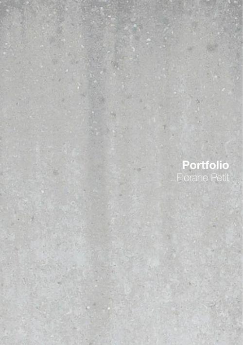 PORTFOLIO FLORANE PETIT