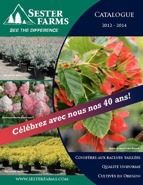 Catalog - French