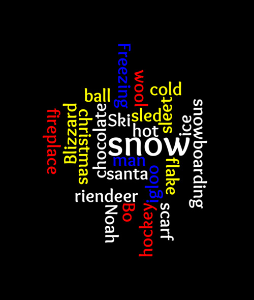WINTER WORDLES by Mrs. Graham's Class