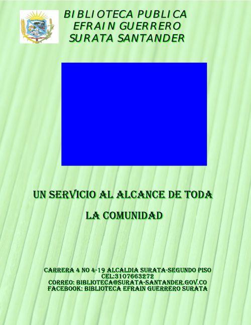 Plantilla Portafolio de Servicios