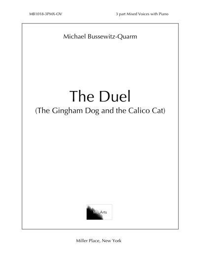 """The Duel: The Gingham Dog and the Calico Cat"" 3-Part Mix with P"
