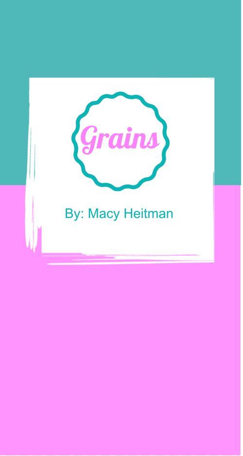 Grain Brochure