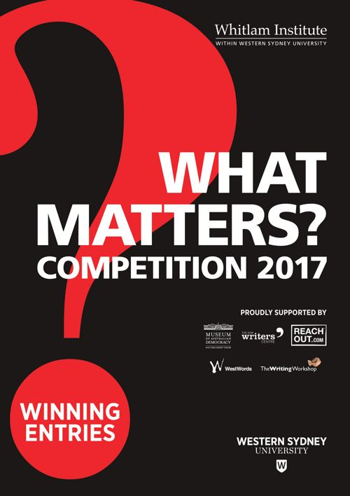 What Matters?  2017 Winning Entries Booklet
