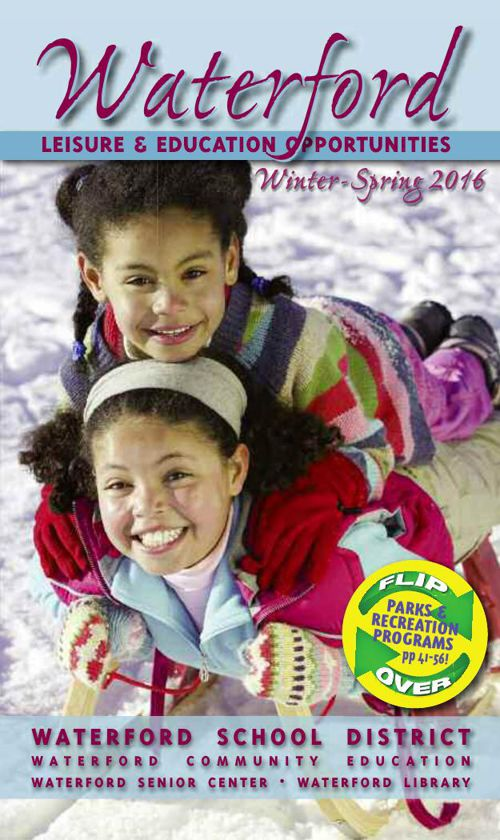 Waterford Leisure & Education Winter/Spring 2016