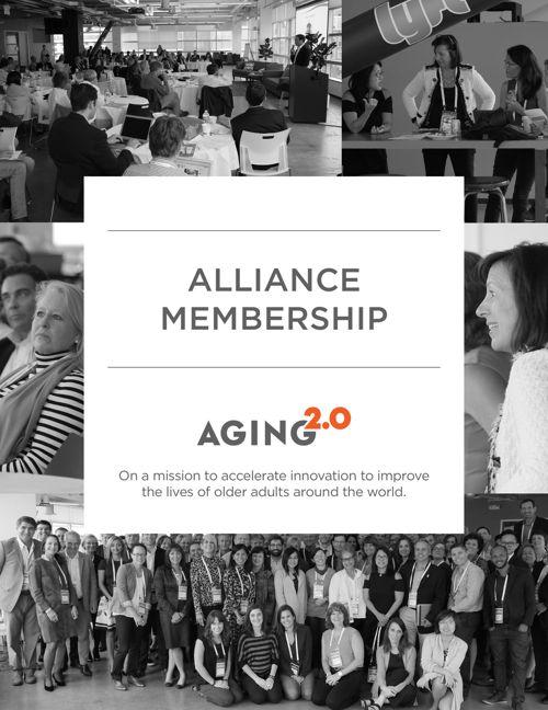 Aging2.0 Alliance Membership Brochure