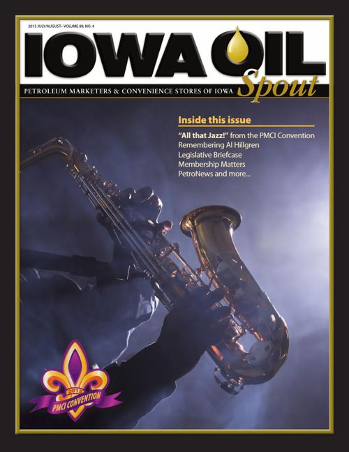 2015 Iowa Oil Spout - July August