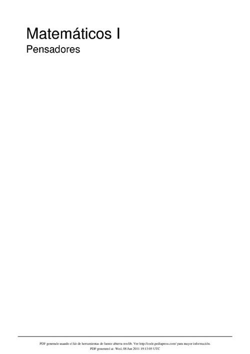 Libro de matemá