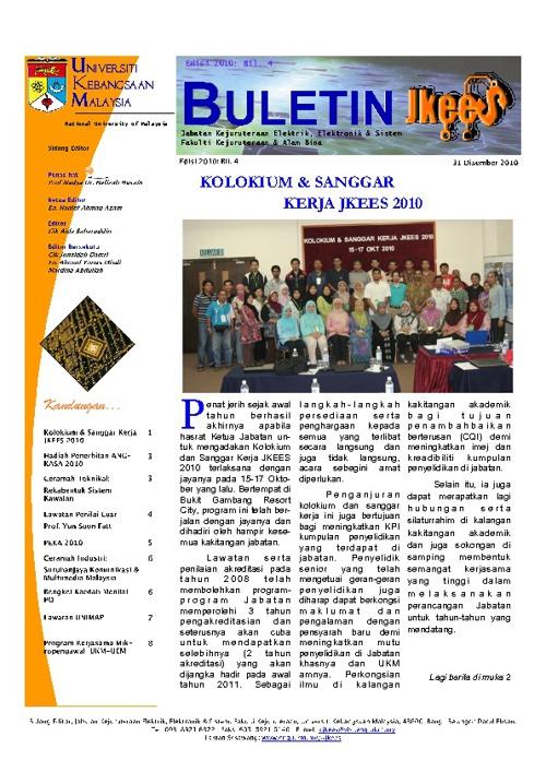 Buletin JKEES DIS 2010