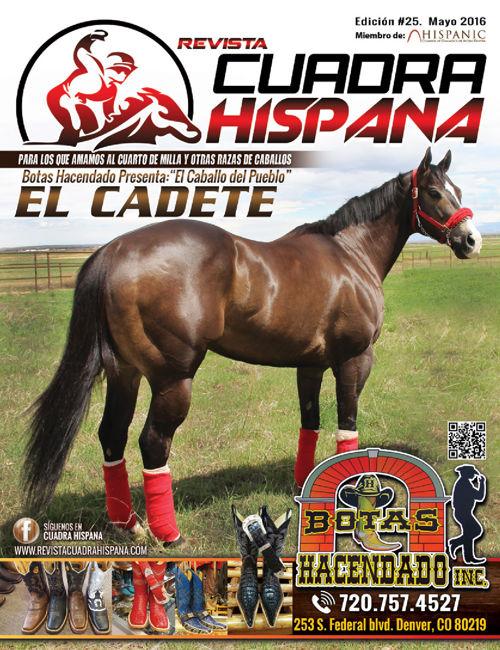 REVISTA CUADRA HISPANA MAYO 2016 Ed25