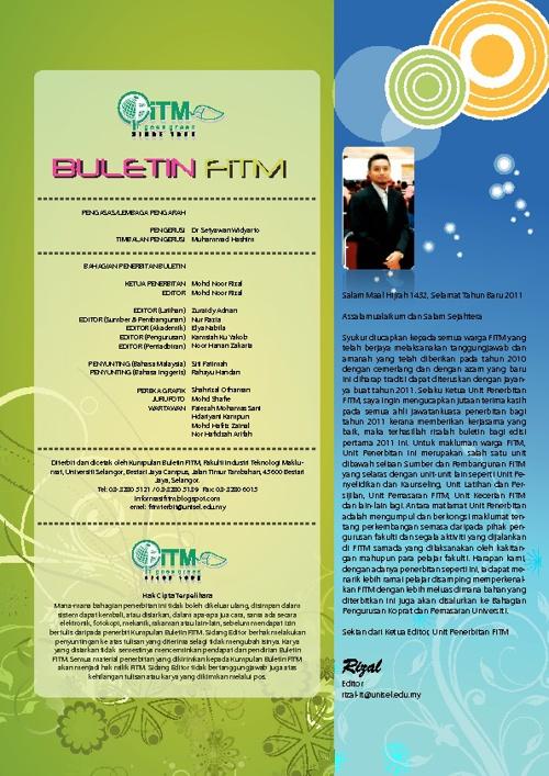BULETIN FKSTM 2011-1