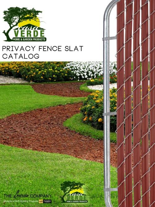 Casa Verde Privacy Fence Slat Catalog