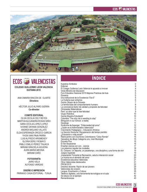 REVISTA ECOS VALENCISTAS