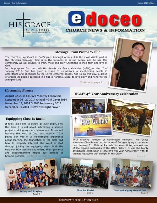 edoceo Newsletter 1st Edition - August 2014