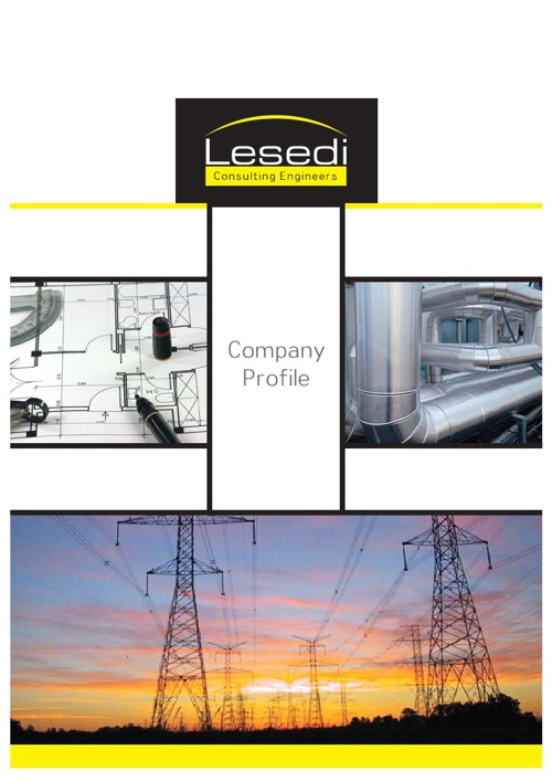 Lesedi Consulting Engineers E-Company Profile Documentation