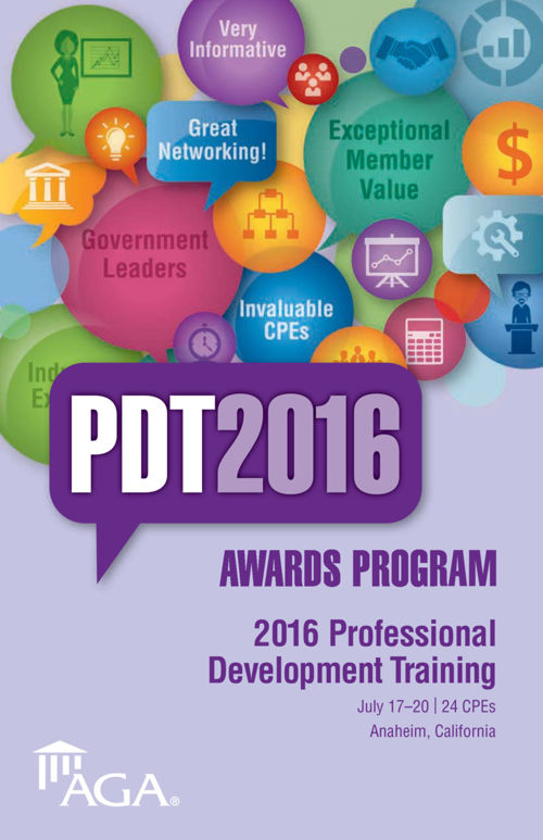 PDT 2016 Awards Program