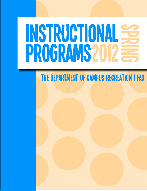 Instructional Programs Spring 2012