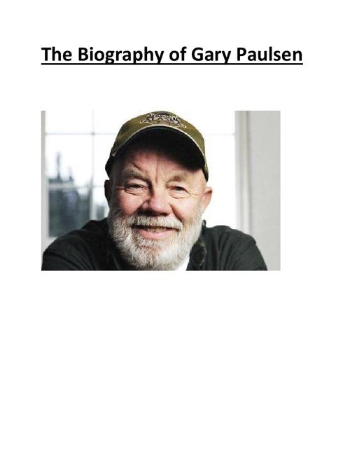 Gary Paulsen The Lawn Boy