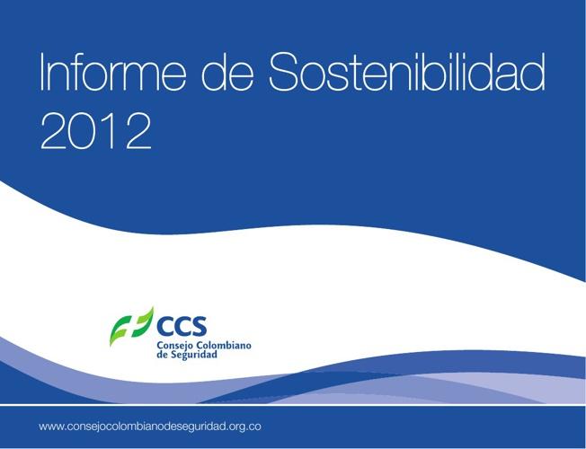 Informe de Sostenibilidad 2012