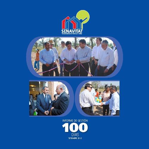 Informe de Gestion 100 días - Senavitat